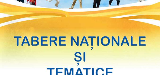 CALENDARUL TABERELOR NAȚIONALE ȘI TEMATICE
