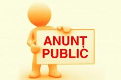 Achiziții publice – Invitație de participare
