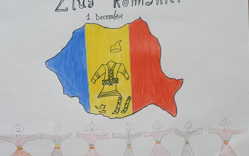 """""""Art creativ – Romania """" proiect de tineret dedicat Zilei Nationale a Romaniei"""